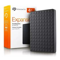 HD Externo Portátil Seagate Expansion 4TB USB 3.0 Preto STEA4000400 -