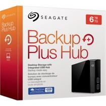 HD Externo Seagate 6TB Backup Plus Hub USB 3.0  STEL6000100 -