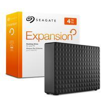 HD Externo / Seagate / Expansion / 4TB / USB 3.0 - Preto -