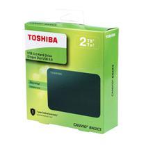 HD Externo Toshiba Canvio Basics 2TB Preto HDTB420XK3AA -