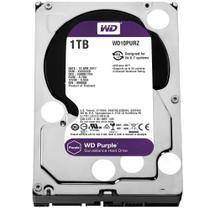Hd Interno 1tb Sata 3 64mb 5400rpm 3,5 Purple  WD10PURZ Western Digital