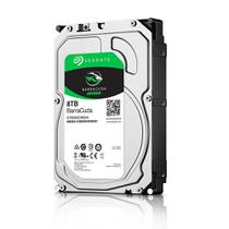 Hd Interno 8Tb Sata 3 256mb 5400rpm 3,5 Barracuda ST8000DM004 Seagate -