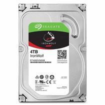 HD Interno Desktop Seagate Iron Wolf 4TB 5900RPM SATA III 6GB/s ST4000VN008 -