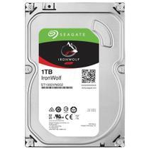"HD Interno Para NAS Seagate, 3.5"" ST1000VN002 1TB, SATA 6.0 GB/s, Cache 64MB, 5900 RPM -"