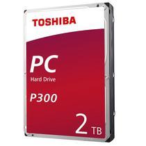 """HD Interno Toshiba PC P300 2TB (2 Tera) SATA III 7200RPM 64MB 3,5"""" HDWD120 -"""