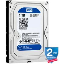 HD Interno WD Blue 1TB 7200 RPM 64MB SATA WD10EZEX-00WN4A0 - Western digital