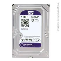 HD Interno WD Purple 1TB Surveillance SATA III 6GB/s 5400 RPM WD10PURX - Western digital