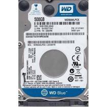 Hd Notebook 2.5 500gb - 5400rpm -wd5000lpcx Western Digital -