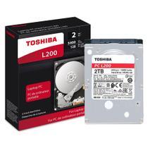 HD para Notebook Toshiba L200 2TB 5400rpm 64MB SATA 6 GB/s HDWL120XZSTA -