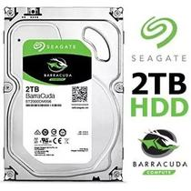 Hd Seagate Barracuda 2tb 2000gb 64mb Sata 3 6gb/s 7200rpm