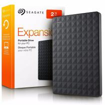HD Seagate Externo Expansion 2TB USB 3.0 Preto