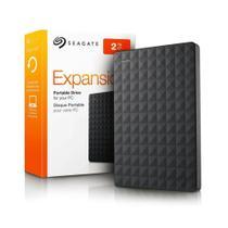 HD Seagate Externo Portátil Expansion USB 3.0 2TB Preto - STEA2000400 - Bringit