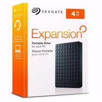 HD Seagate Externo Portátil Expansion USB 3.0 4TB Preto - STEA4000400 -