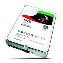 HD Seagate Iron Wolf 10TB 7200RPM SATA 3.5 Cache 6Gbs -