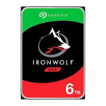 HD SEAGATE IRONWOLF 6TB 5400RPM 256MB 6GB/s ST6000VN001 3,5 SEAGATE -