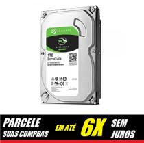 Hd Seagate Sata 1tb 64mb 7200rpm Barracuda 6gb/s St1000dm010 -