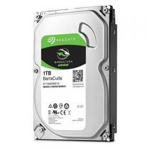 HD Seagate SATA 3,5 BarraCuda 1TB 7200RPM 64MB Cache 6GB/s -