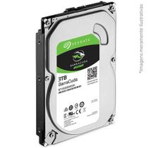 HD Seagate SATA 3,5 BarraCuda 3TB 7200RPM 64MB Cache SATA 6Gb/s - ST3000DM00 -
