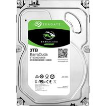 HD Seagate SATA 3TB 64MB 7200RPM BarraCuda 6Gb/S ST3000DM008 para PC -