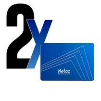 HD SSD 120GB N535S SATA3 560MBs Netac 2un -