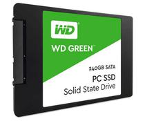 HD SSD 240GB Green WD Sata 3 Leituras 540MB/s Gravações 465MB/s  WDS240G1G0A - Western digital