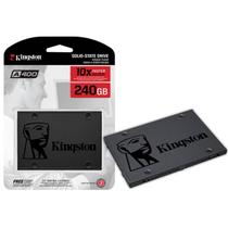 HD SSD 240GB Kingston 2.5 Sata Ill A400 - SA400S37/240G