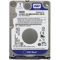 HD WD SATA 2,5 p/ Notebook Blue 7mm 500GB 5400RPM 16MB Cache SATA 6.0Gb/s - WD5000LPCX - Western digital