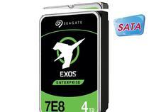 Hdd 3,5 Exos Para Servidor 4T 128Mb Cache 7200RPM Sata 6GB/s - Seagate