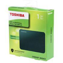 Hdd externo portatil toshiba 1 tb canvio basics - hdtb410xk3aa -