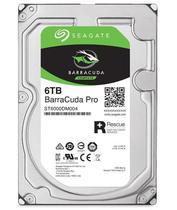 Hdd seagate barracuda pro 6 tb  p/ desktop - st6000dm004 -