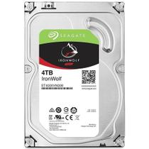 HDD Seagate Ironwolf 4 TB P/ NAS - ST4000VN008 -
