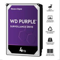 Hdd wd purple 4 tb para seguranca   vigilancia   dvr   wd40purz -