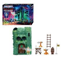 He Man Castelo De Grayskull Masters Of The Universe com Mini Figura Mattel - GXP44 -