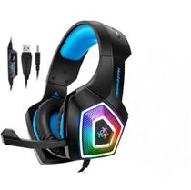 Headaset Gamer Fone 7.1 RGB Surround PS4/PC/Smartphones Microfone Articulado - Infokit