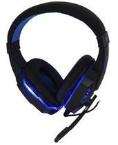 Headfone gamer led usb c/microfone led hf-g390p4 azul - Exbom