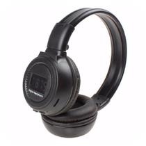 Headphone Bluetooth c/ Microfone Wireless Mp3/WMA/WAV N65 Preto - Zgp