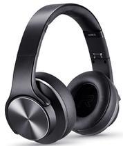 Headphone Bluetooth Duo Xtrax Preto Fone De Ouvido Sem Fio Caixa De Som 2 Em 1 Unissex Acolchoado Rádio Atende Ligação Novo -