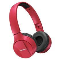 Headphone Bluetooth Pioneer Se Mj553bt R Vermelho -