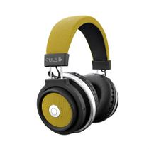 Headphone Bluetooth Pulse Preto e Amarelo PH233 - Multilaser