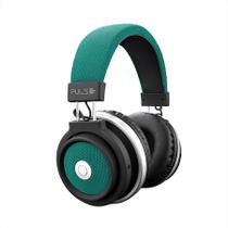 Headphone Bluetooth Pulse Preto e Verde PH231 - Multilaser