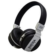 Headphone bluetooth xd preto vc71p - vicini -