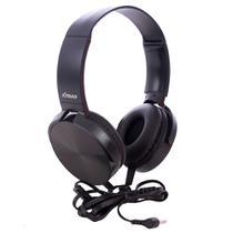 Headphone Com Fio Estéreo Extra Bass LC-834 - Fmsp