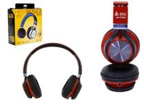 Headphone Estereo com Microfone P2 150MW HM-750MV Vermelho HM - 750MV Infokit -