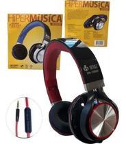 Headphone fashion com microfone hm-750mv infokit -