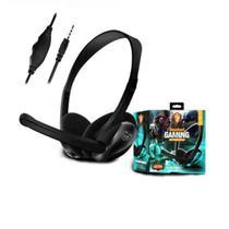 Headphone Fone Com Fio Microfone compativel Ps4 Xbox Jogos On Line Marca - WXY - DACAR