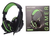 Headphone Fone de Ouvido com Microfone Flexível Gamer Headset Haste Ajustável - Multilaser