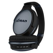 Headphone Fone de Ouvido Xtrad Sem Fio LC-813 Bluetooth - Preto -