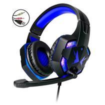 Headphone Gamer Pc Com Microfone - G600   azul - Multilaser