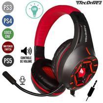 Headphone Headset Gamer c/ Microfone TecDrive PX-12 - BAZZI COMPANY COM