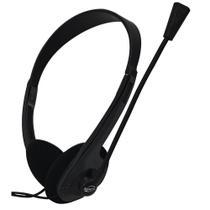 Headphone Headset Newlink High Tone com Microfone HS302 - Preto - New Link